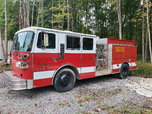 1977 ward lafrance pumper truck Detroit 2 stroke diesel trad