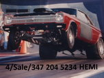 Plymouth Satellite Hemi race car  for sale $30