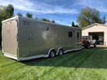 Custom ATC Enclosed Snowmobile Car Race Trailer  for sale $29,000