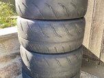 4 Toyo Proxes R888R 245/40ZR17 91W Track Tires Autcross  for sale $180