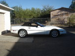 Clean 1990 White Convertible  for sale $7,000