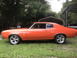 1972 Chevrolet                                          Chevelle  for sale $34,900