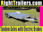 18' ATC All Aluminum Car Hauler * Alum Deck
