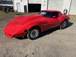 79 Corvette back half  for sale $15,500