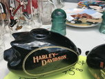 Harley banks, Oil can banks, Tire ashtray  for sale $1