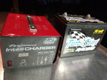16/12 combo battery charger, and 16 volt battery  for sale $395