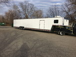 3 Car enclosed Trailer.  for sale $22,000
