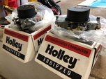HOLLEY BLOWER CARBS (2)  for sale $800