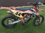 2016 1/2KTM SXF Factory Edition  for sale $7,500