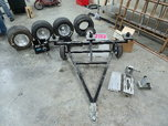 Jr Dragster tow dolley, wheel, starter, and misc parts.  for sale $250