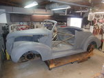 1938 Ford Convertible Street Rod Project  for sale $25,000