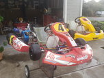 3 complete 4 cycle sprint karts  for sale $5,000