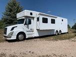 Showhauler Volvo Stepdown Garage build #726  for sale $119,500