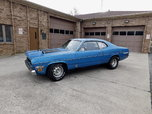 1970 Duster H Code b5 Blue