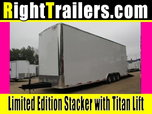 IN PRODUCTION - 8.5x30 Stacker Race Trailer - Pro Package for Sale $32,999