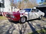 Beautiful 69 Chevelle Drag Car