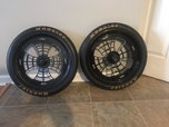 Black Jegs Dragster Wheels   for sale $700