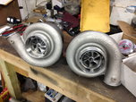 twin 88mm Turbonetic turbos and wastegates  for sale $2,750