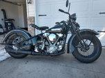 1947 EL harley knucklehead  for sale $33,000