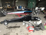 1 spitzer dragster and spare car and parts   for sale $6,500