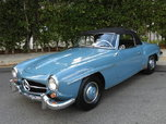 1960 Mercedes-Benz 190SL  for sale $39,000