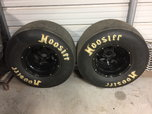 15x12 Weld ProStars black anodized w/ 29.5x11.50W-15 Hoosier  for sale $700