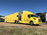 1998 Competion Trailer with 1998 Volvo 660  for sale $145,000