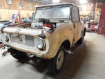 1961 Scout Model 80 Gasser Project  for sale $7,500