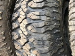 5 Milestar M/T Tires, 37 x 12 - 17  for sale $995