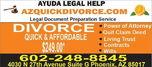Affordable divorce document preparation service  for sale $300