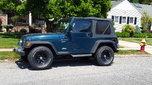 1997 Jeep TJ  for sale $6,800