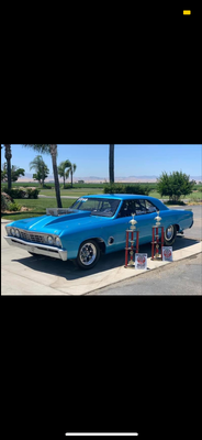 1967 CHEVELLE BIG BLOCK 632 RACE AND SHOW READY