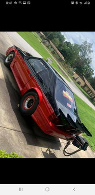 Mustang Turbo Street Car 25.5 cage