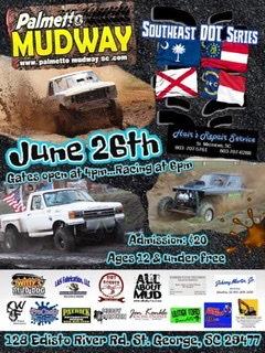Palmetto Mudway June 26th