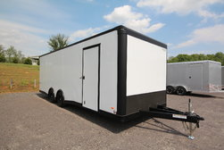 2021 Bravo Star 24ft. w/5,200lb. Axles Enclosed Car Trailer