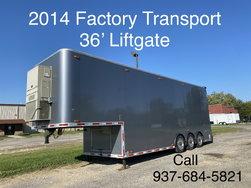 2014 Factory Transport 36' Liftgate
