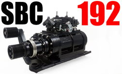 SMALL BLOCK CHEVY THE BLOWER SHOP SUPERCHARGER 192 BLACK  for sale $5,249