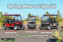 Blow-out Special! Brand new Bintelli Golf Carts  for sale $6,995