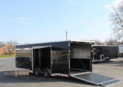 READY 7/30 2021 24' Black Extreme Easy Exit Trailer!