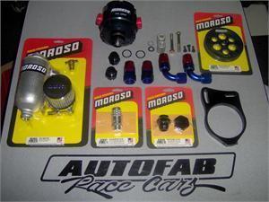 Moroso 4 Vane Vacuum Pump Kit SBC & BBC  for Sale $1,199