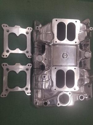 Pontiac Low Rise Dual Quad Intake Manifold