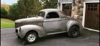 All Steel 1940 Willy's Coupe Deluxe   for Sale $89,500