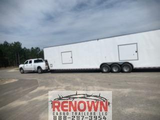 **NEW** 8.5X48 Gooseneck TOY HAULER Enclosed Cargo Trailer  for Sale $37,499