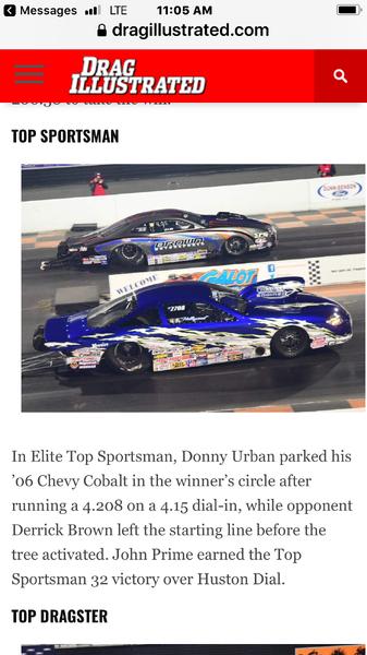 18 Elite TS World Champion  for Sale $68,000