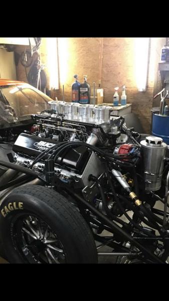 959 Buck Racing Engine Jay Cox 3.64 204mph