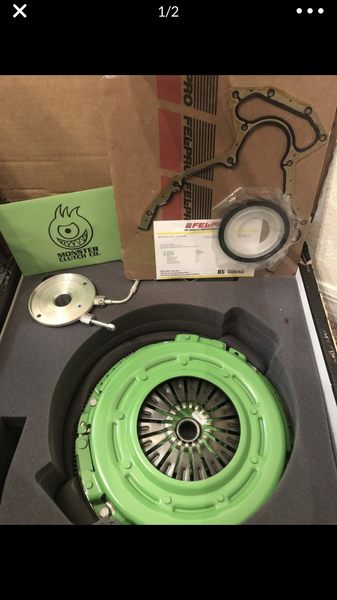 (New) C5 stage 2 monster clutch kit w/ lightweight flywheel  for Sale $800