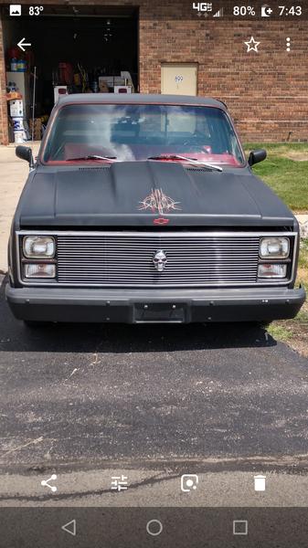 1984 C10 pro street short bed pickup truck  for Sale $13,500