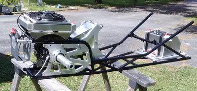 Motivational Tubing Jr. Comp dragster back half