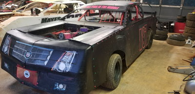 Race ready super stock Mustang chassis