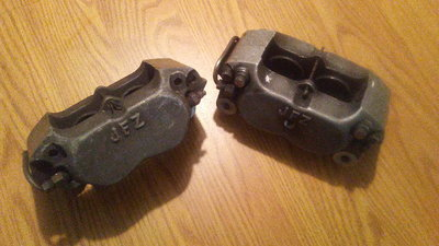 JFZ Rear 4 piston Calipers